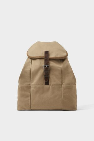Zara Cotton backpack