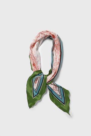 Zara City print scarf