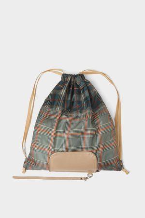 Zara Multicoloured folding backpack