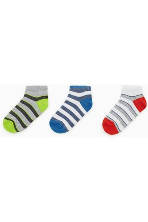 Zara 3-pack of striped ankle socks