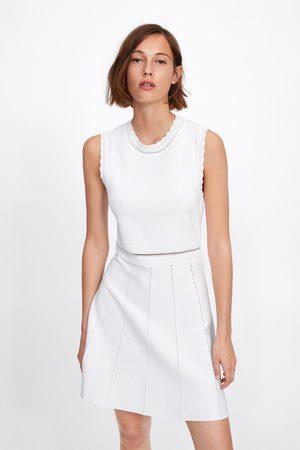 Zara Open knit dress