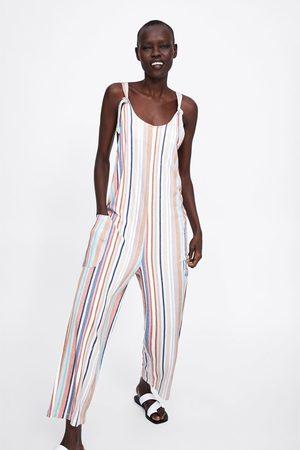 Zara Striped playsuit