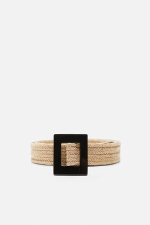 Zara Belt with square buckle