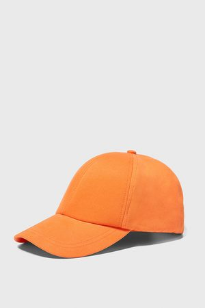 Zara Textured twill cap