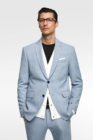 Zara Textured suit blazer