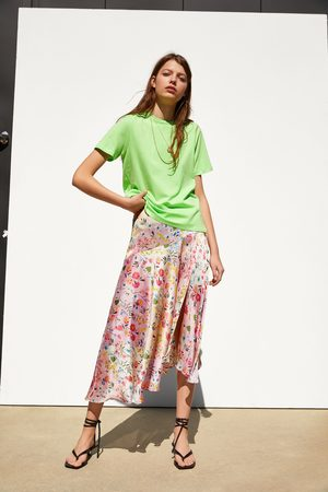 Zara Naiset T-paidat - Basic t-shirt