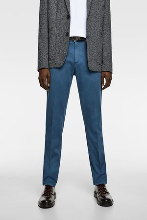 Zara Miehet Chinot - Chino trousers with belt
