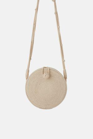 Zara Round cord crossbody bag