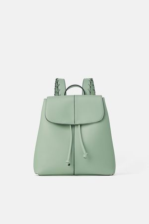Zara Naiset Reput - Backpack with stitched straps