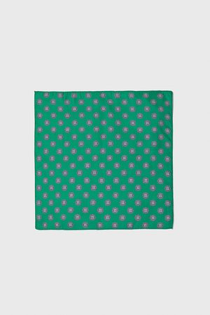 Zara Mini print pocket square