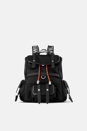 Zara Nylon mini backpack