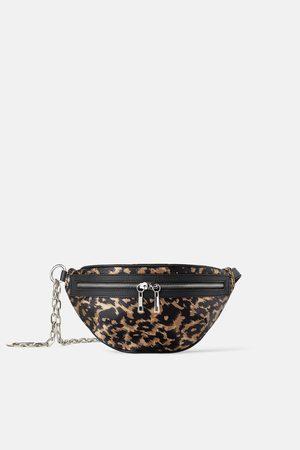 Zara Animal print join life crossbody belt bag