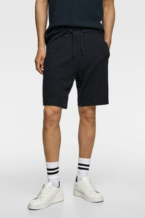 Zara Knit bermuda jogging shorts