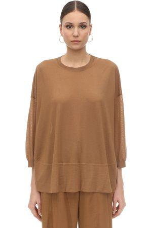 Agnona Cashmere Knit Turtleneck Sweater