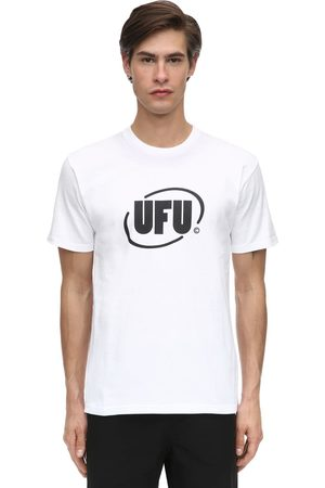 UFU - USED FUTURE Round Logo Cotton Jersey T-shirt