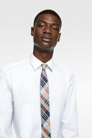 Zara Miehet Solmiot - Check jacquard skinny tie