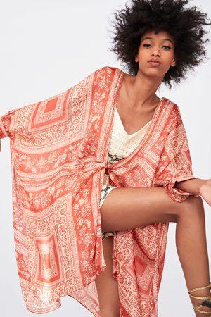 Zara Naiset Kimonot - Printed kimono
