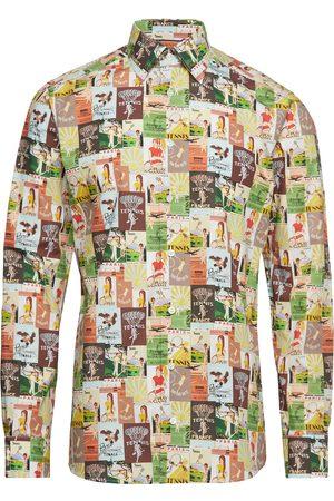 Eton Tennis Print Multicoloured Shirt