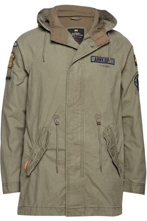 Superdry Rookie Aviator Patched Parka