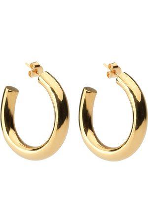 syster P Bolded Big Hoop Earring Gold Accessories Jewellery Earrings Hoops Kulta