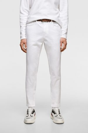 Zara Textured trousers with belt