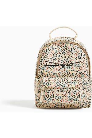Zara Print cotton backpack