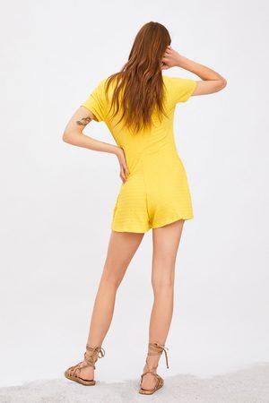 Zara Textured playsuit
