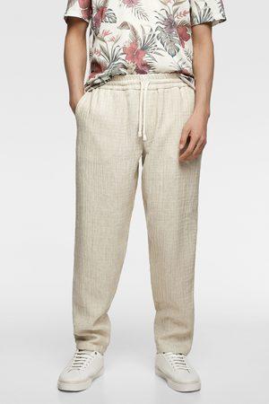 Zara Rustic jogging trousers