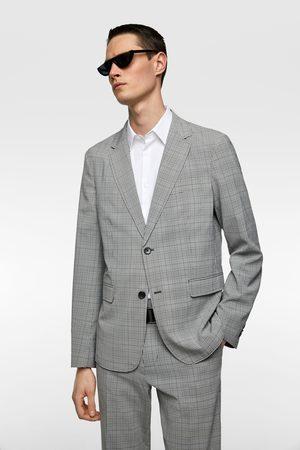Zara Miehet Bleiserit - Check suit blazer