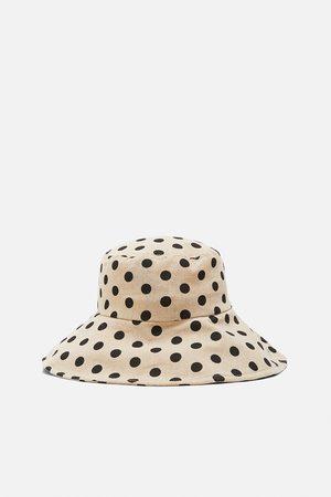 Zara Limited edition polka dot bucket hat