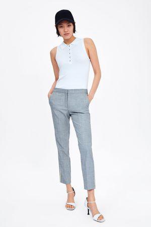 Zara Jogger waist trousers with side stripes