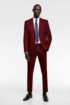 Zara Miehet Housut - Chintz comfort suit trousers