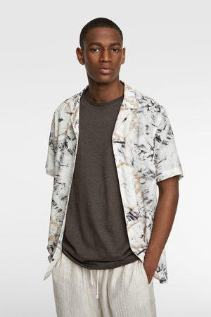 Zara Tie-dye print shirt