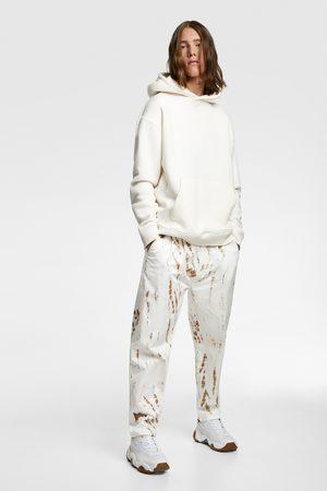 Zara Miehet Solmiot - Tie-dye print trousers