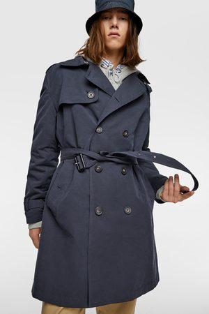 Zara Water-repellent trench coat