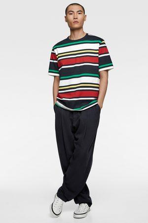 Zara Contrast stripes t-shirt