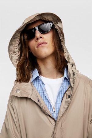 Zara Oversized hooded parka