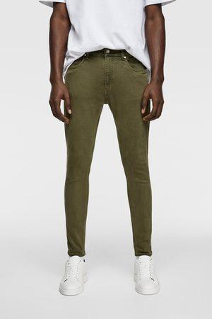 Zara Miehet Farkut - Coloured super skinny jeans