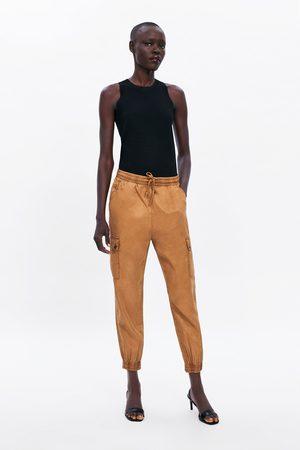 Zara Trousers zw premium cargo jogger