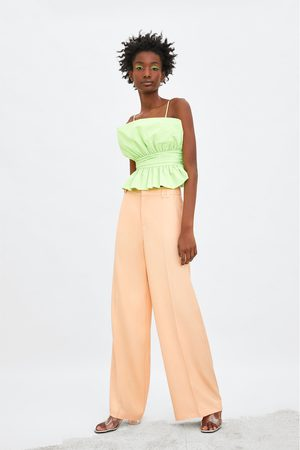 Zara Limited edition wide-leg trousers