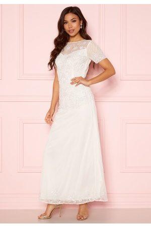 Angeleye Sequin Embellished Dress White XS (UK8)