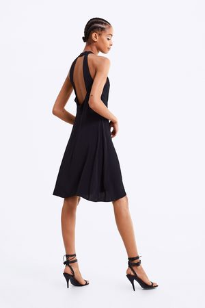 Zara Halterneck dress