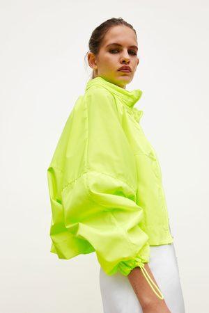 Zara Packable raincoat - backpack