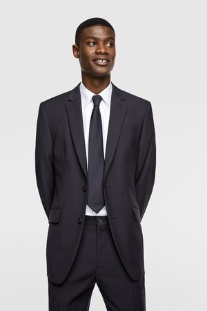 Zara Textured wool blazer