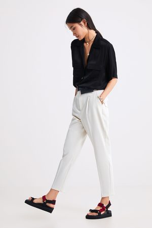 Zara Darted trousers with belt bag