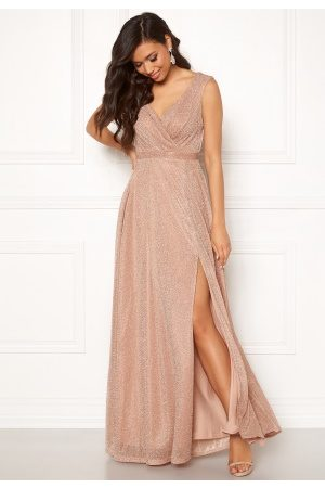 18e410cce32 Wrap Front Maxi Dress Nude XXL (UK18)