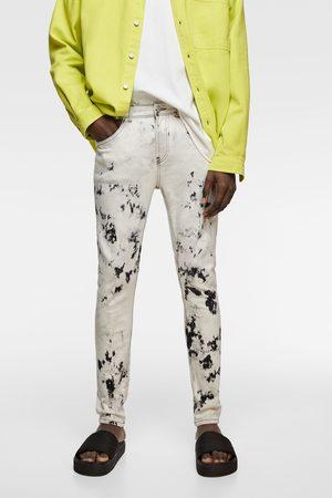 Zara Tie-dye skinny jeans