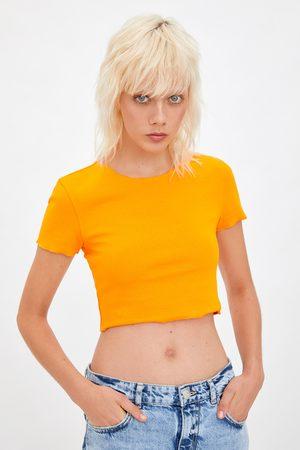 Zara Cropped t-shirt