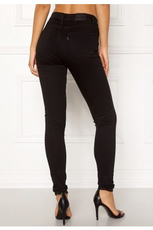 Levi's 720 Hirise Super Skinny Jeans 0000 Black Galaxy 25/32