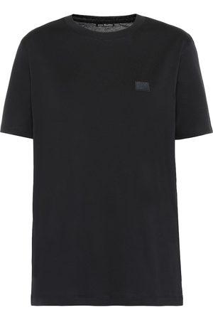 Acne Face cotton-jersey T-shirt